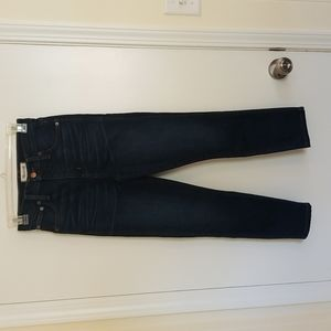 Madewell 10 inches  High Riser Skinny Skinny Cropped Jeans 24
